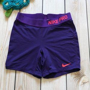 Nike Pro girl's training shorts